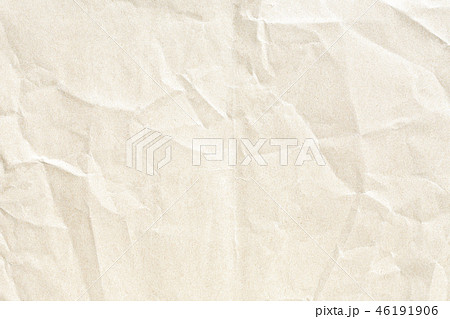 Brown crumpled paper texture 46191906