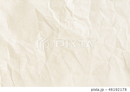 Crumpled old brown paper texture 46192178