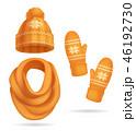 ウインター 冬 布のイラスト 46192730