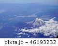 富士山 山 風景の写真 46193232