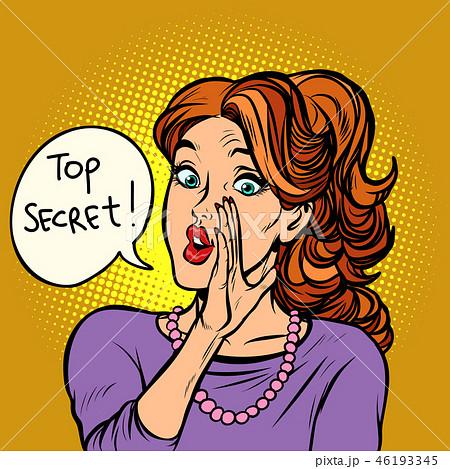 top secret. women gossip rumor 46193345