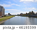 広瀬川 川 河川の写真 46193399