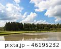 風景 晴れ 田舎の写真 46195232