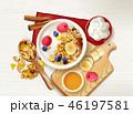 Muesli Fruits Table Composition 46197581