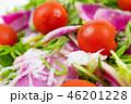 野菜 サラダ 野菜サラダの写真 46201228