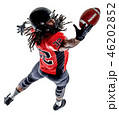 american football player man isolated 46202852
