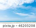 海 ビーチ 青空の写真 46203208