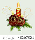 クリスマス デコレーション 装飾のイラスト 46207521