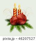 クリスマス デコレーション 装飾のイラスト 46207527