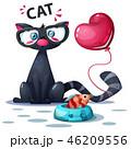ねこ ネコ 猫のイラスト 46209556
