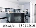 キッチン 厨房 台所のイラスト 46211919