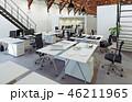 オフィス インテリア 近代的のイラスト 46211965