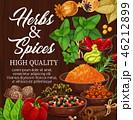 ハーブ スパイス 香料のイラスト 46212899