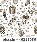 クリスマス ベクトル 柄のイラスト 46213056
