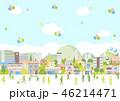 風船 バルーン ライフスタイルのイラスト 46214471