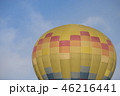 熱気球 バルーン 青空の写真 46216441