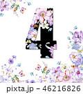 花 フラワー お花のイラスト 46216826