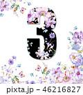 花 フラワー お花のイラスト 46216827