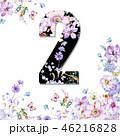 花 フラワー お花のイラスト 46216828