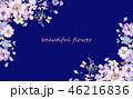 花 フラワー お花のイラスト 46216836
