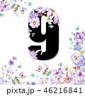 花 フラワー お花のイラスト 46216841