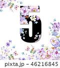 花 フラワー お花のイラスト 46216845