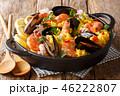 パエリヤ 米 ご飯の写真 46222807