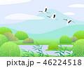 景色 風景 ベクトルのイラスト 46224518