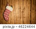 クリスマス バックグラウンド 背景のイラスト 46224644