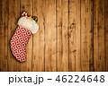 クリスマス バックグラウンド 背景のイラスト 46224648