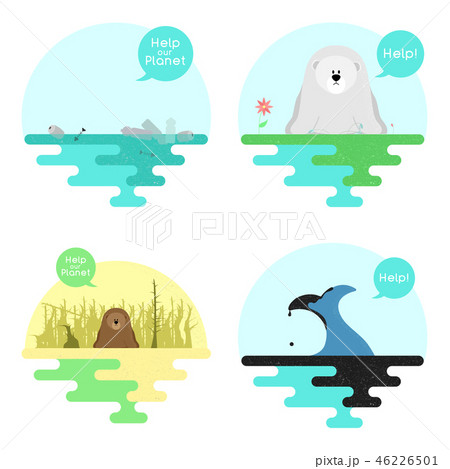 Illustration on the theme of global warming. 46226501