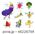 キャラクター 文字 字のイラスト 46226709