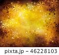 雪の結晶 雪 背景のイラスト 46228103