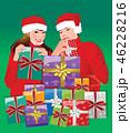 クリスマス クリスマスプレゼント ギフトのイラスト 46228216