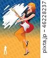 カラフル 舞踊 祭り 46228237