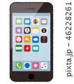 スマートフォン スマホ アプリのイラスト 46228261