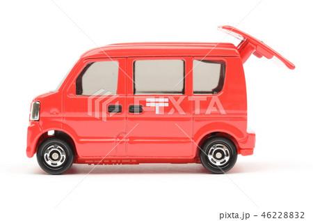 郵便車イメージの写真素材 [4622...