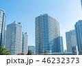 都市風景 高層マンション  高層ビル 都市開発 46232373