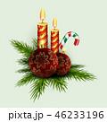 クリスマス デコレーション 装飾のイラスト 46233196