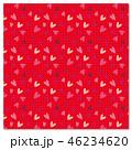 ハート 背景素材 模様のイラスト 46234620