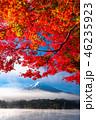 富士山 紅葉 秋の写真 46235923