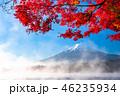 富士山 紅葉 秋の写真 46235934