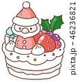 クリスマスケーキ 46236821