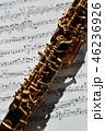 オーボエと楽譜 46236926