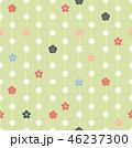 抽象的 アート 花のイラスト 46237300