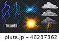 雷 ベクトル ライトのイラスト 46237362
