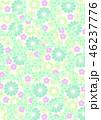 和柄 花柄 花のイラスト 46237776