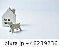 家 住宅 犬の写真 46239236