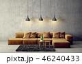 ソファ ソファー 長椅子のイラスト 46240433