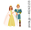 Prince and Princess vector 46242133